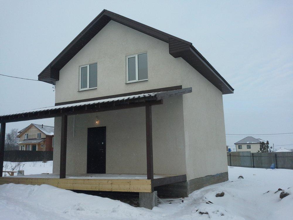 Коттеджный поселок Раменский район п.Велино  2-х эт. дом 105кв.м.